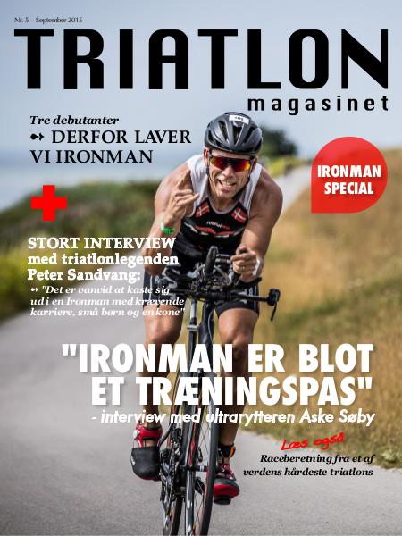 TRIATLON magasinet august 2015