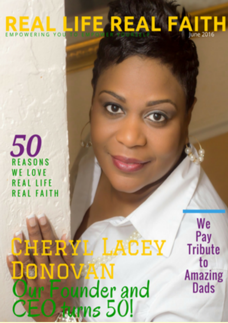 Real Life Real Faith June Issue