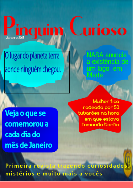 Revista Digital Pinguim Curioso 1 Volume