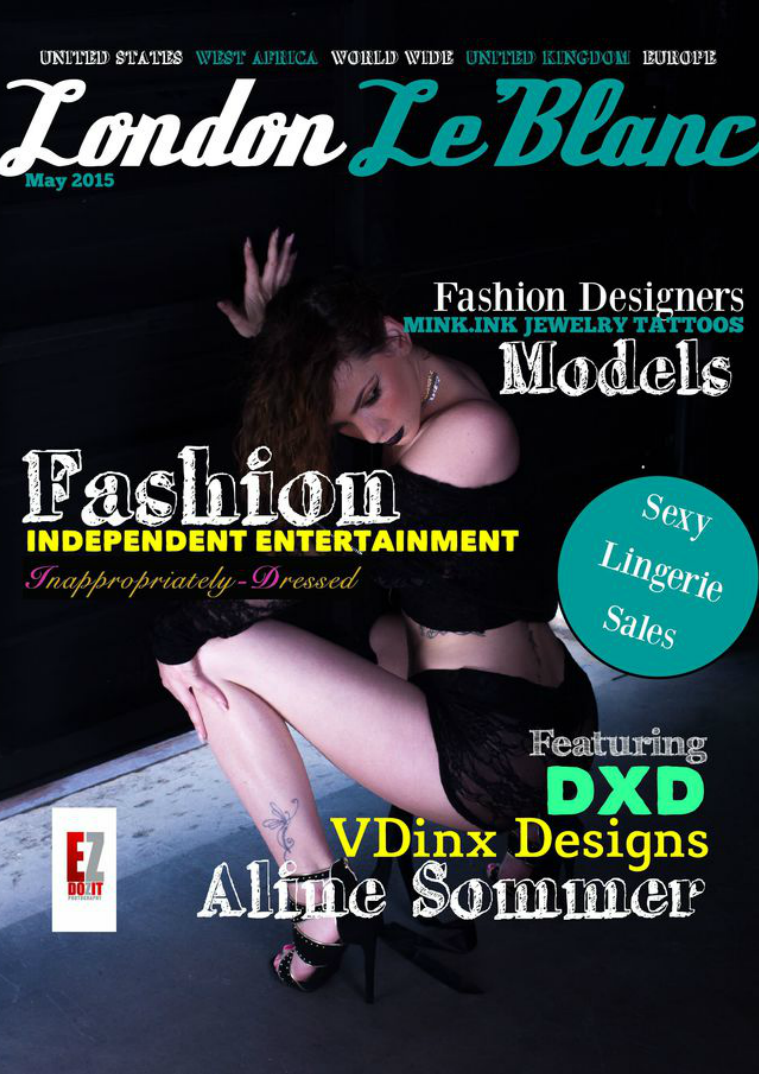 London Le'Blanc Magazine Volume 5