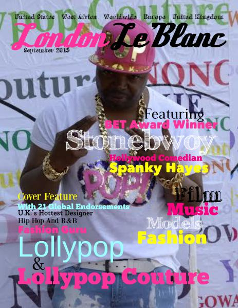 London Le'Blanc Magazine Volume 9
