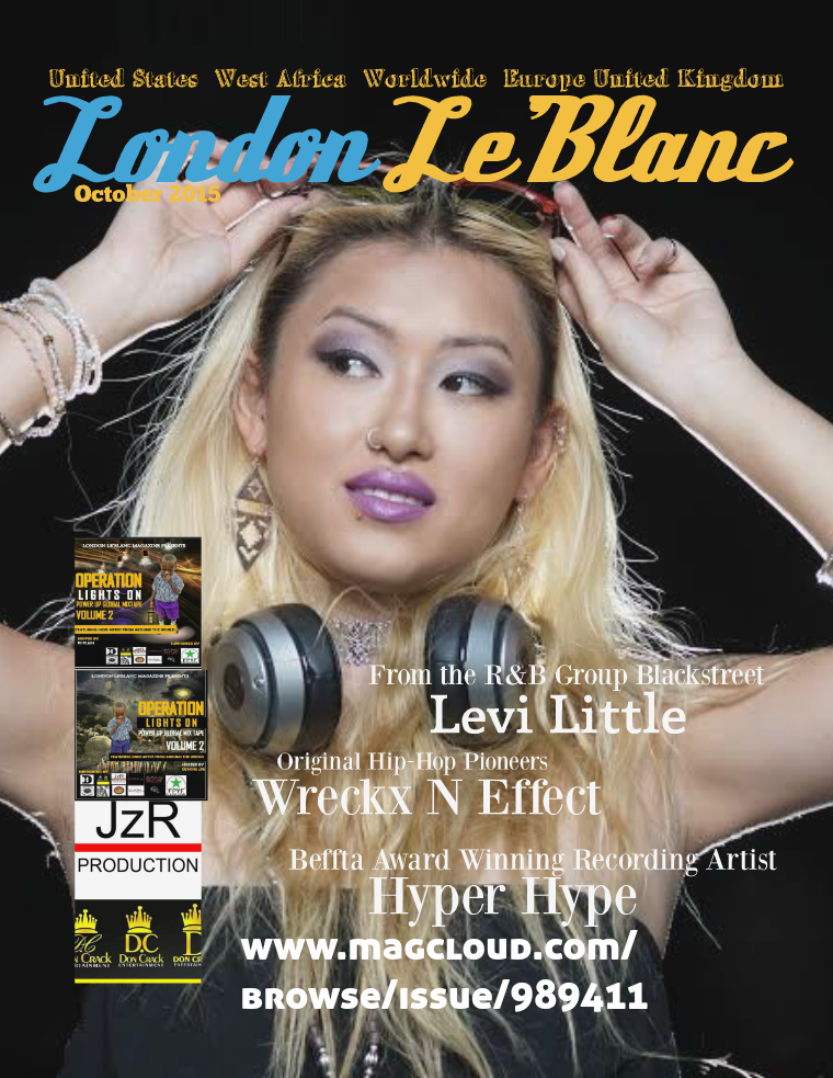 London Le'Blanc Magazine Volume 10