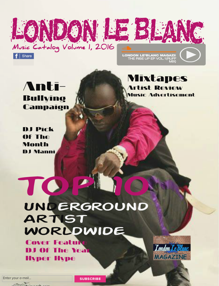 Le'Blanc Music Mag Le'Blanc Music Mag