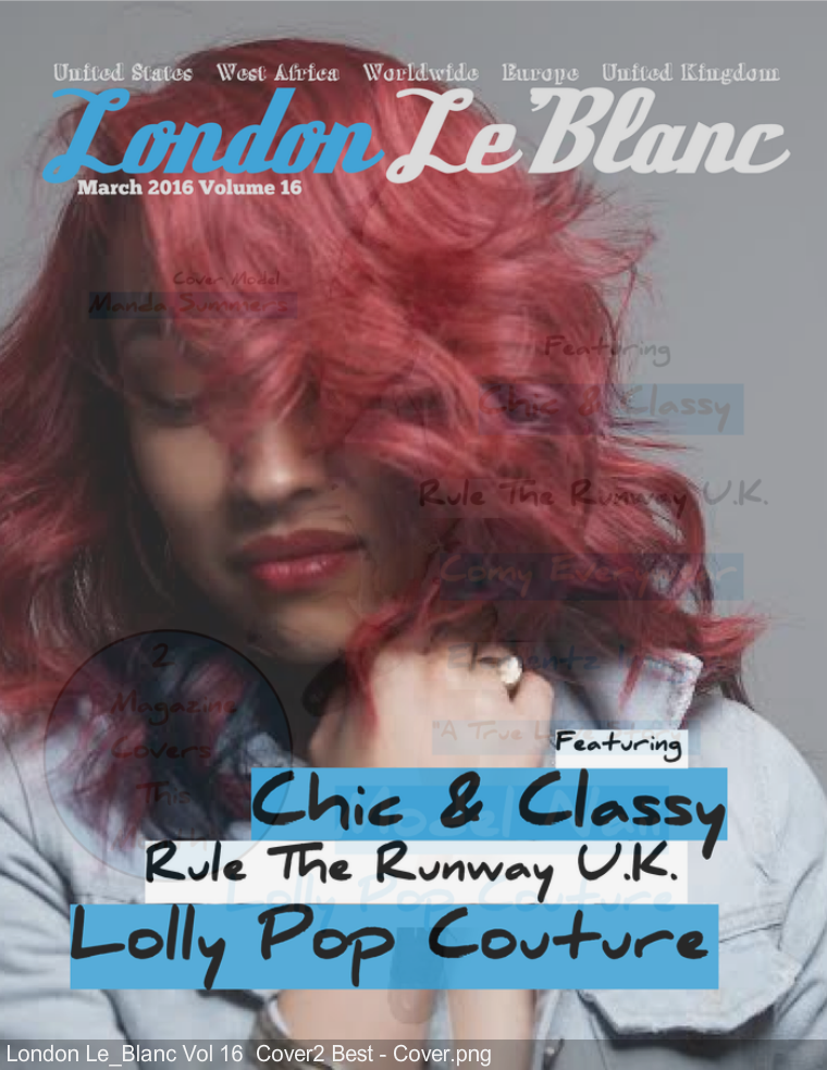 London Le'Blanc Magazine volume 16