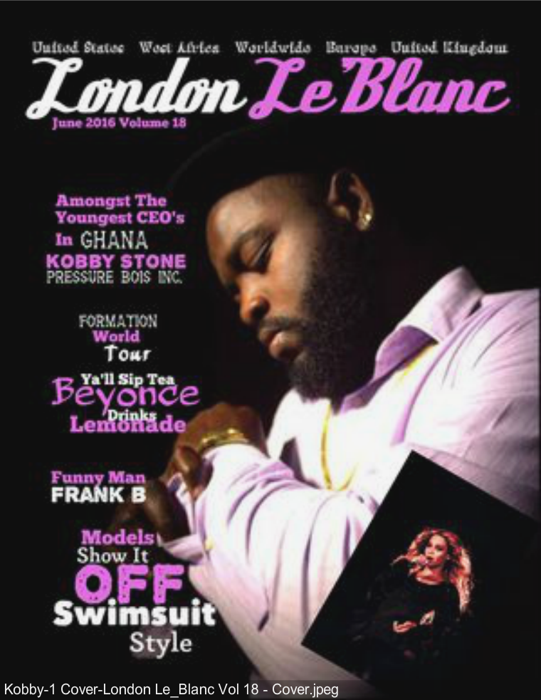 London Le'Blanc Magazine Vol. 18