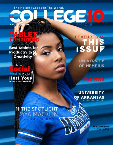 The College10 Magazine Issue 01.2 (Re-Release) July/August 2015