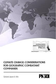 Climate Change: Considerations for Geographic Combatant Commands