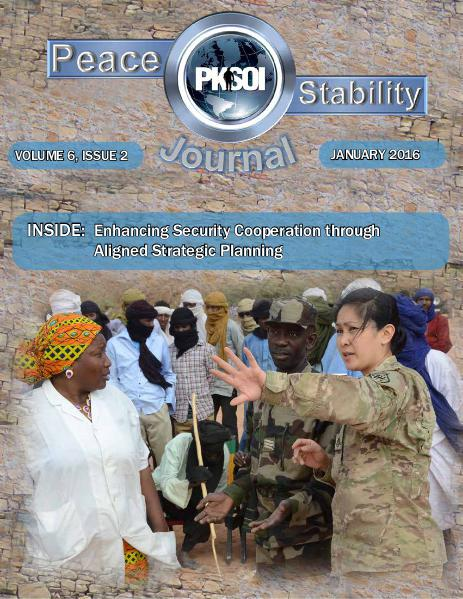 Peace & Stability Journal Volume 6, Issue 2