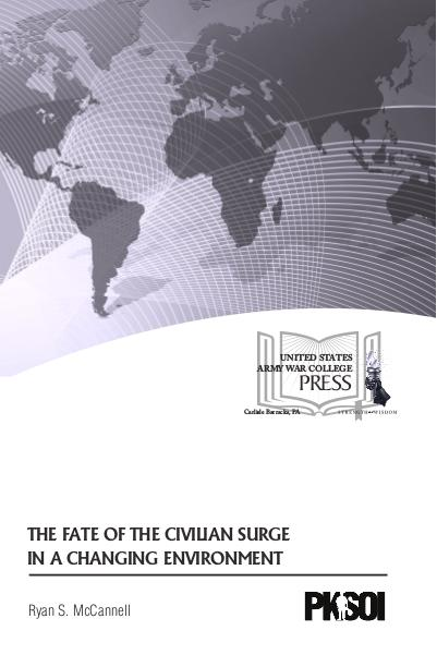 The Fate of the Civilian Surge in a Changing Environment
