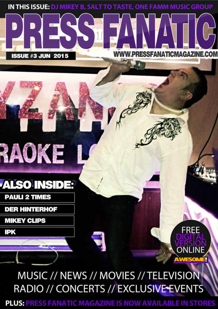 Press Fanatic Magazine June 2015