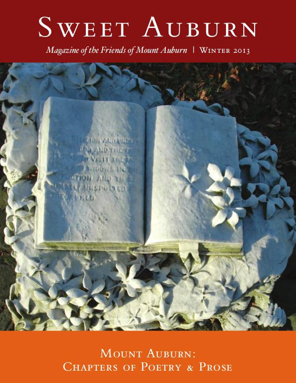 Mount Auburn: Chapters of Poetry & Prose