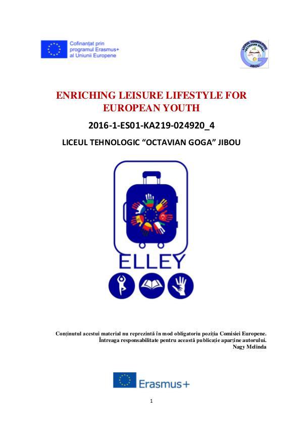 ELLEY - Erasmus + 2016-2018 Elley 2016-2018