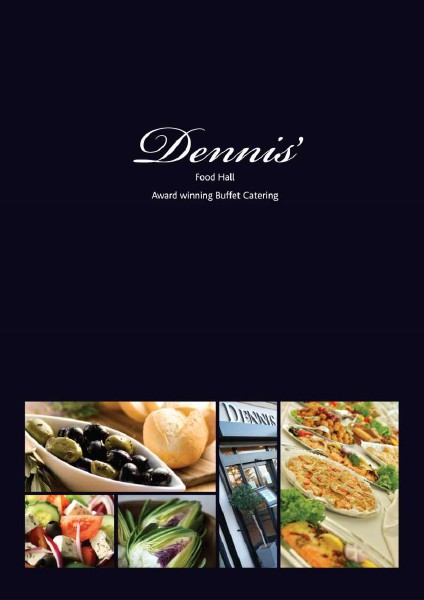 Dennis Of Bexley Catering Brochure Jan. 2015