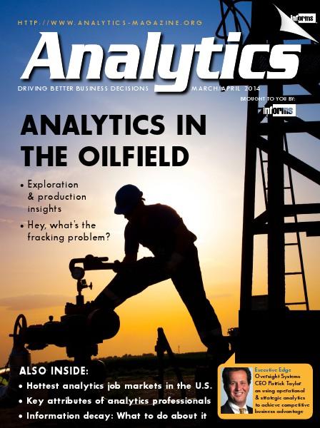 Analytics Magazine, March/April 2014