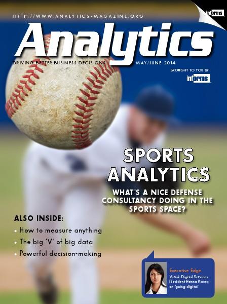 Analytics Magazine, May/June 2014