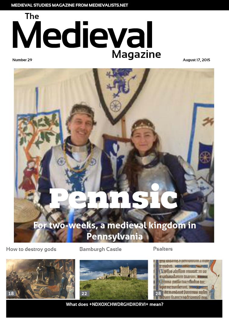 The Medieval Magazine No.29