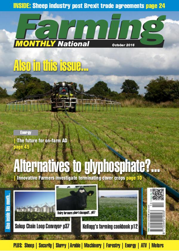 Farming Monthly National October 2016