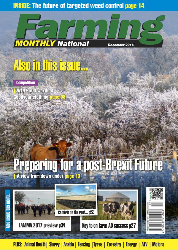 Farming Monthly National December 2016