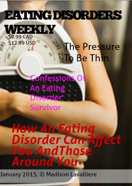 EATING DISORDERS WEEKLY Jan. 2015