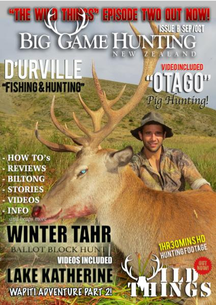 Big Game Hunting New Zealand Sep/Oct 2015