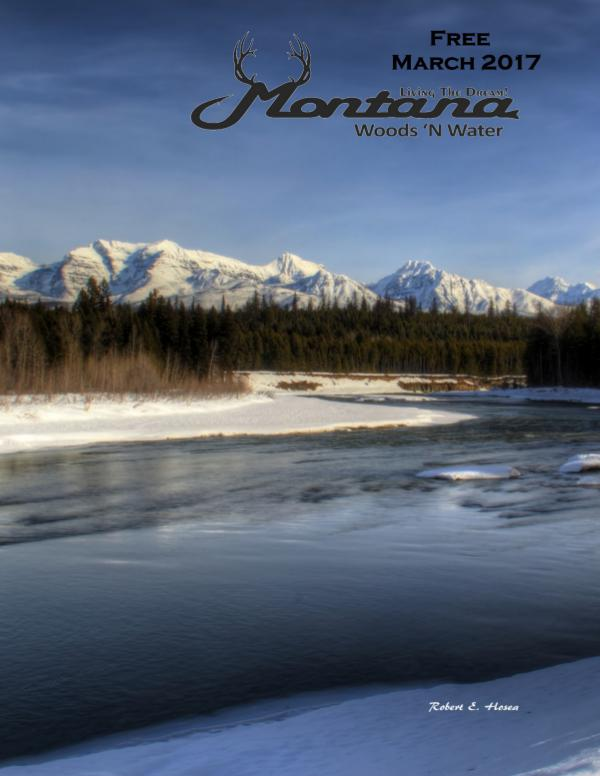 Montana Woods N Water March 2017 Print Edition