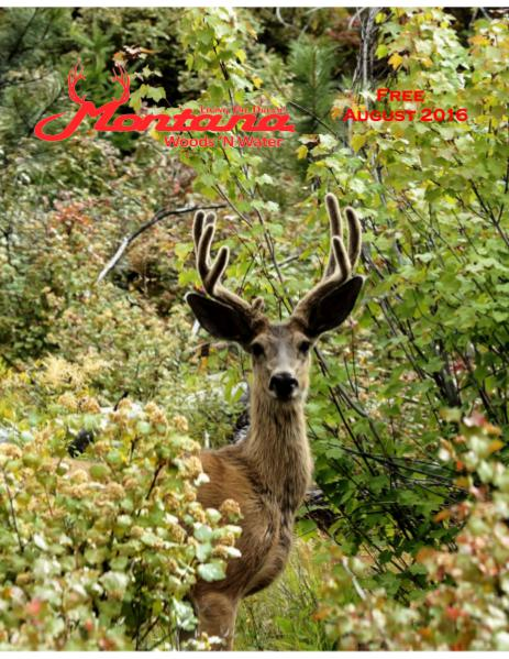 Montana Woods N Water August 2016 Print Edition