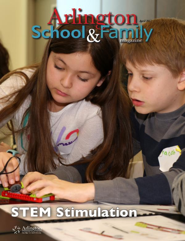 Arlington School & Family Magazine April 2017