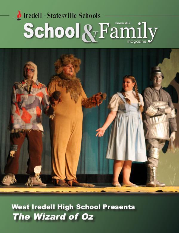 Iredell-Statesville Schools School & Family Magazine Summer 2017