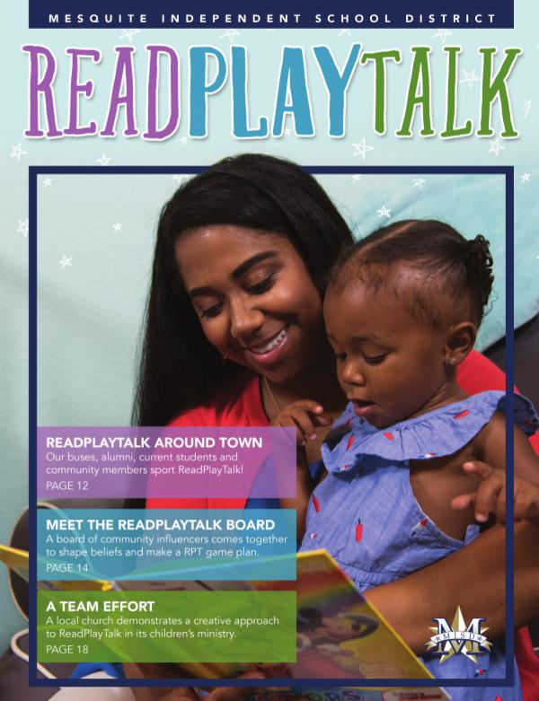 Mesquite ISD Read Play Talk Magazine Fall 2017