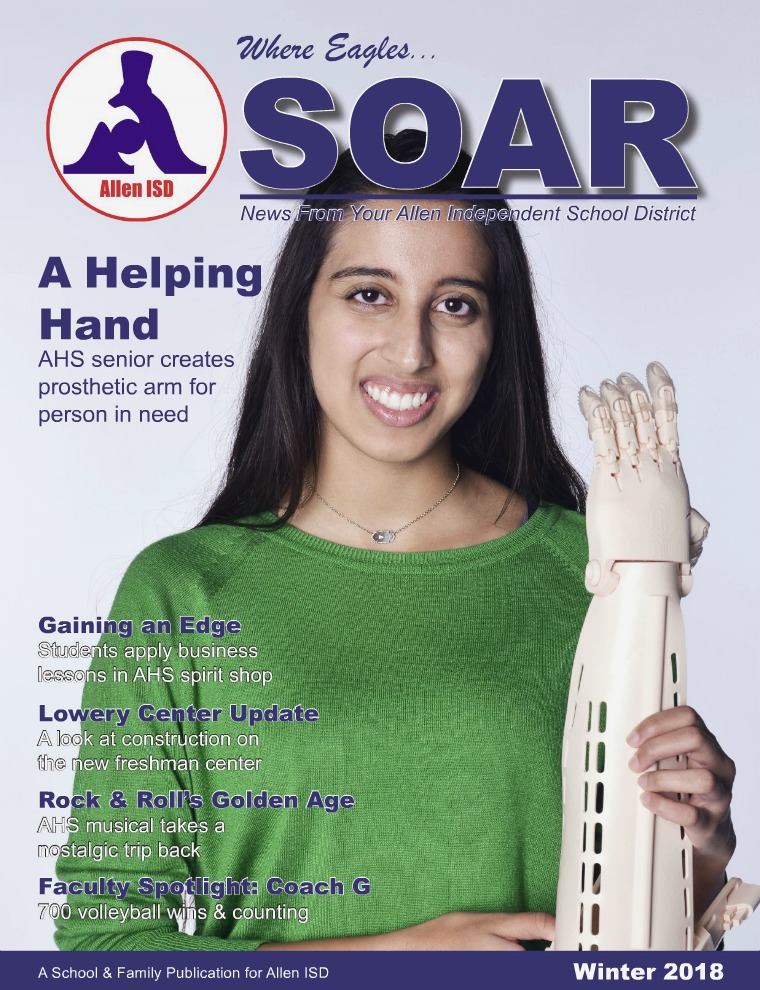 Allen ISD Where Eagles Soar Magazine Winter 2017