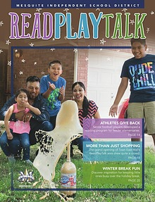 Mesquite ISD Read Play Talk Magazine