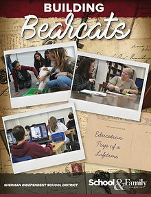 Sherman ISD Building Bearcats Magazine