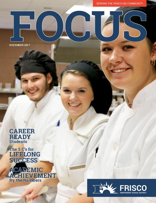 School & Family Magazine Newstand Frisco ISD November 2017