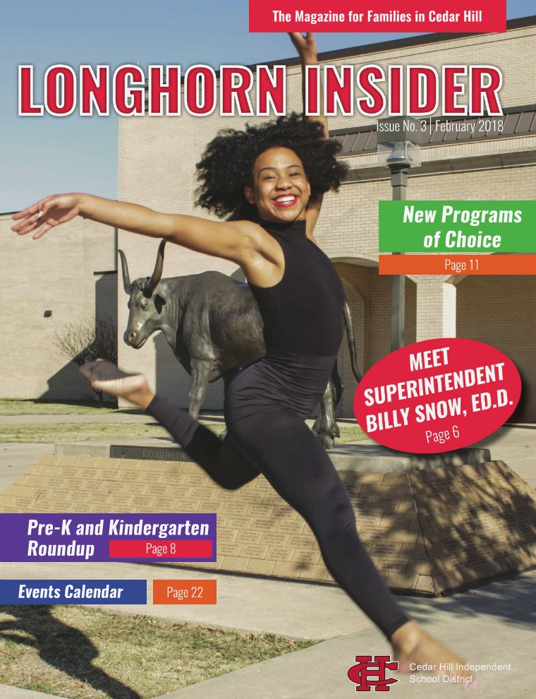 Cedar Hill ISD Longhorn Insider February 2018