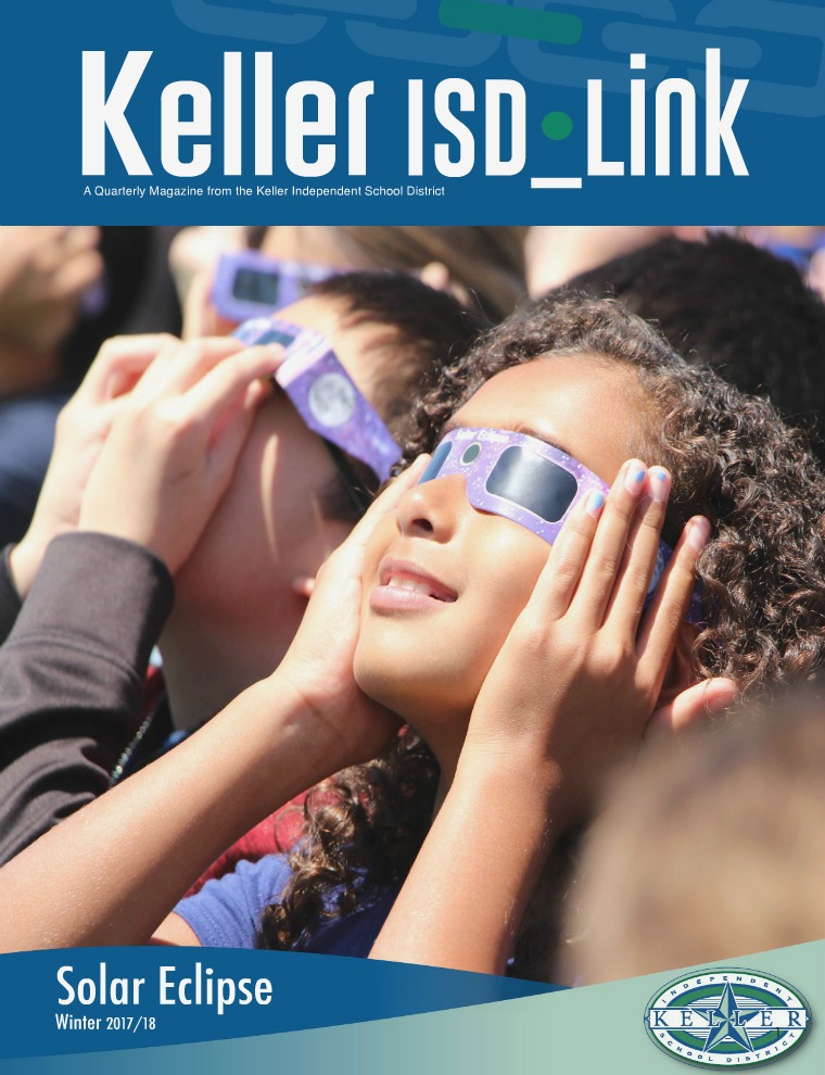 School & Family Magazine Newstand Keller ISD Winter 2017-18