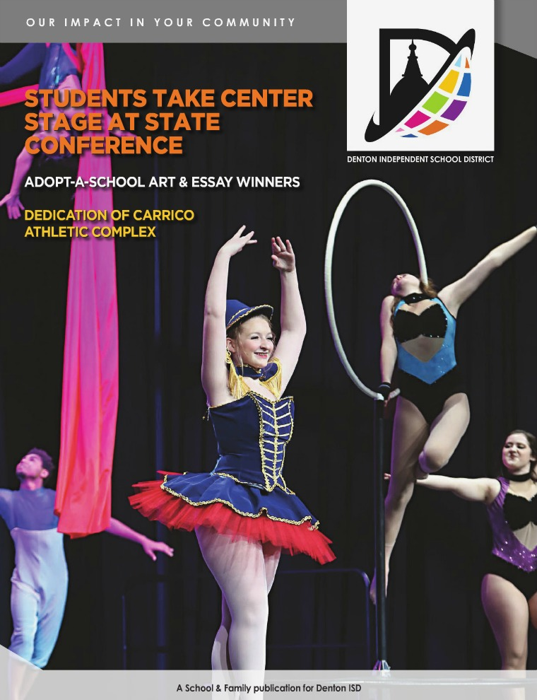 School & Family Magazine Newstand Denton ISD Winter 2018