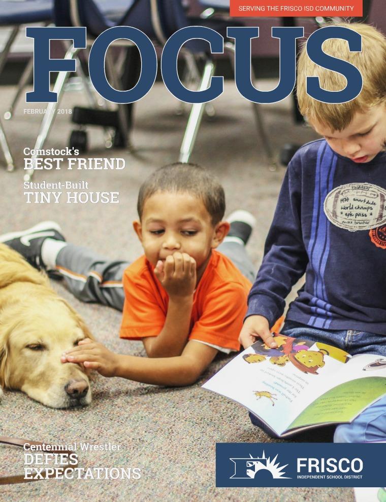 Frisco ISD Focus Magazine February 2018