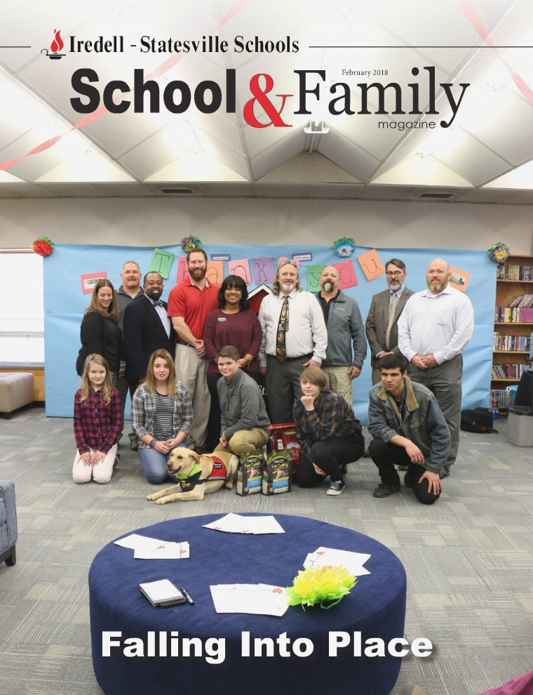 Iredell-Statesville Schools School & Family Magazine February 2018