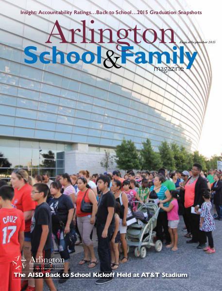 Arlington School & Family Magazine August/September 2015