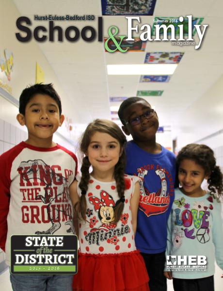 HEB ISD School & Family Magazine Summer 2016