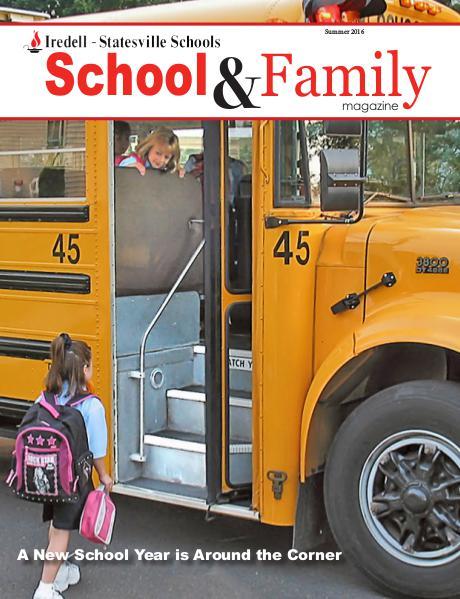 Iredell-Statesville Schools School & Family Magazine Summer 2016