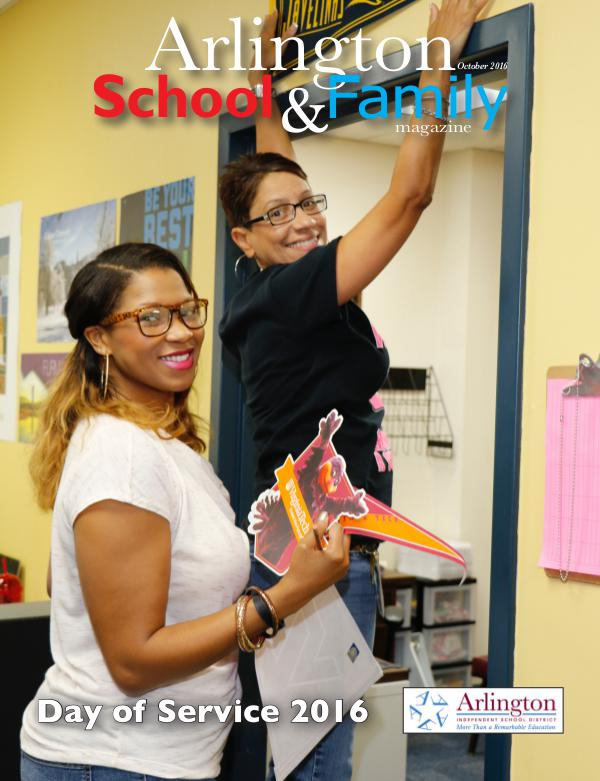 Arlington School & Family Magazine October 2016
