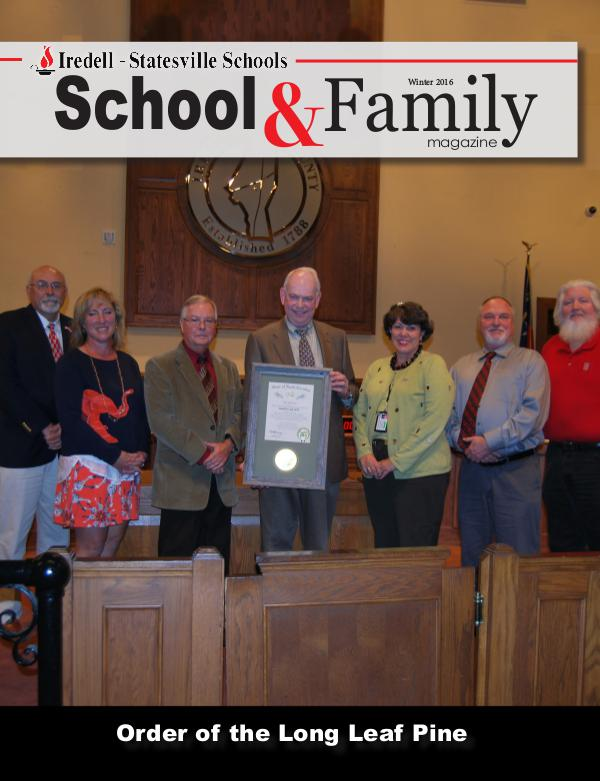 Iredell-Statesville Schools School & Family Magazine December 2016