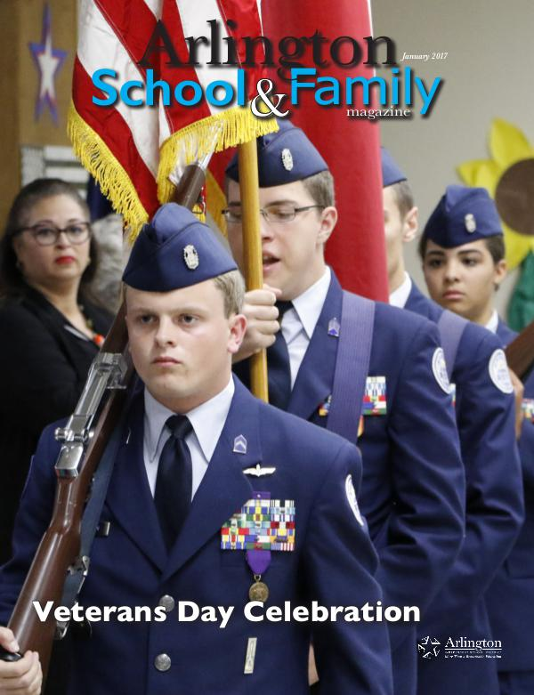 Arlington School & Family Magazine January 2017