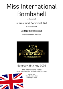 Great British Bombshell 2016