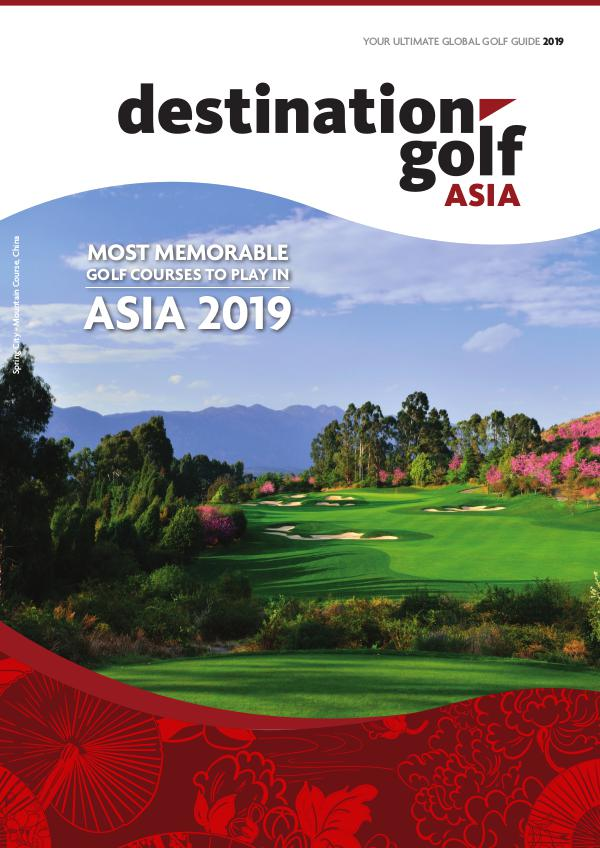 Destination Golf Asia 2019 *
