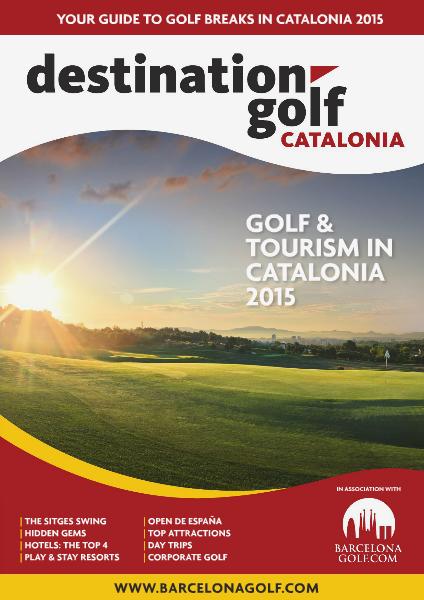 Destination Golf Catalonia 2015 2015