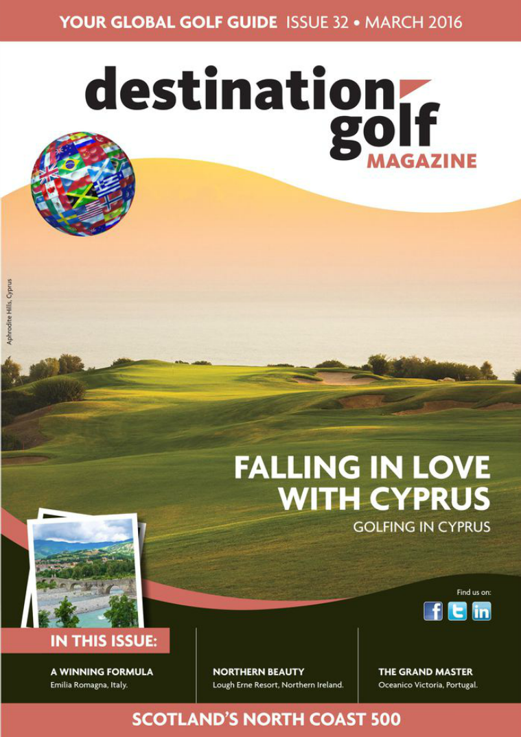 Destination Golf - March 2016 Destination Golf - March 2016