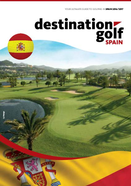 Destination Golf Spain 2016 *