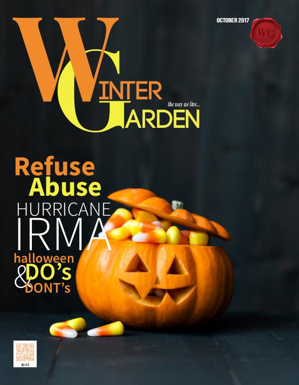 Winter Garden Magazine October 2017